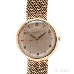 Early IWC 18kt Gold Automatic Wristwatch