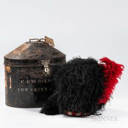 Scottish Bonnet and Tin Case