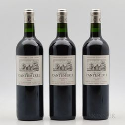 Chateau Cantemerle 2016, 3 bottles