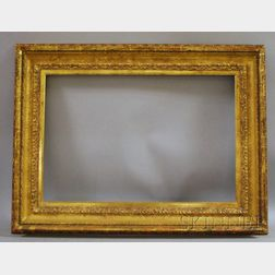 Custom Period Reproduction Neoclassical Gilt Frame