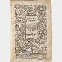 Day, Richard (b. 1552) A Booke of Christian Prayers.