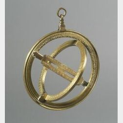 Brass Universal Equinoctial Ring Dial