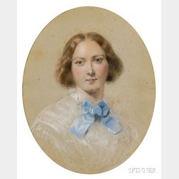 British School, 19th Century      Miss Beaven, Later Lady Colnaghi.