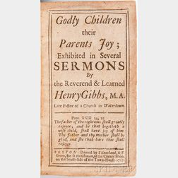 Gibbs, Henry (1668-1723) Goldy Children their Parents Joy.