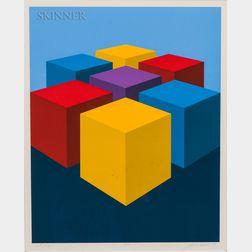 Marko Spalatin (American, b. 1945)    Cube Group