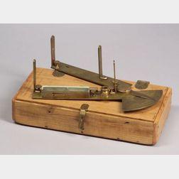 Brass Surveying Quadrant