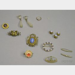 Group of Assorted Estate and Costume Jewelry
