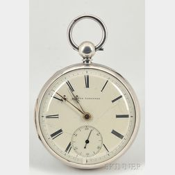 Silver Consular Case Half-Second's Beating Watch by Thomas Yates