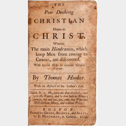 Hooker, Thomas (1586-1647) The Poor Doubting Christian Drawn to Christ.
