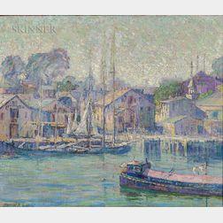 Harriet Randall Lumis (American, 1870-1953)      Harbor View