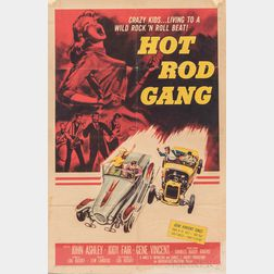 """Hot Rod Gang"" One Sheet Movie Poster"