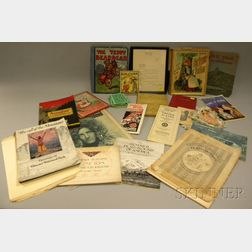 Lot of 19th and 20th Century Paper, Ephemera, and Collectibles