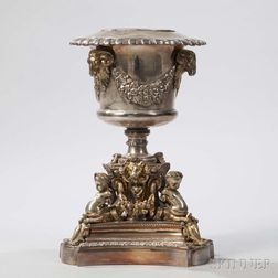 Neoclassical-style Silver-plate Wine Cooler