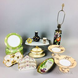 Twenty Ceramic Tableware Items