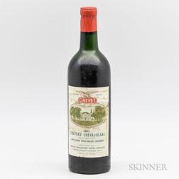 Chateau Cheval Blanc 1961, 1 bottle