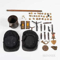 Group of Civil War-era Items