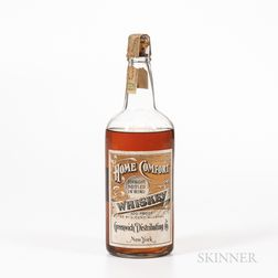 Home Comfort Whiskey 1914, 1 quart bottle Spirits cannot be shipped. Please see http://bit.ly/sk-spirits for more info.