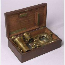 Lacquered-Brass Solar Miscroscope by W & S Jones