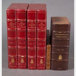 Coleridge, Samuel Taylor (1772-1834), Two Titles in Six Volumes