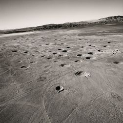 Emmet Gowin (American, b. 1941)      Subsidence Craters on Yucca Flat, Nevada Test Site