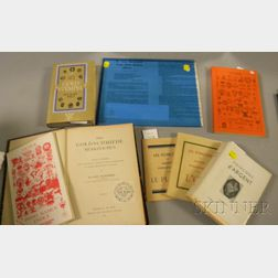Eight Pamphlets and Books Related to European Clock and Watch Trademarks