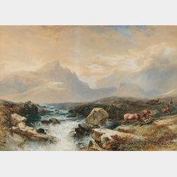 William Andrews Nesfield (British, 1793-1881)      Ben Huish