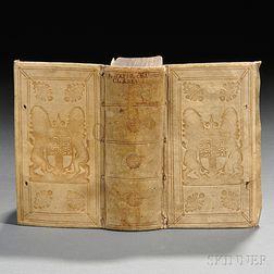 Achilles Tatius (2nd century CE) edited by Claude de Saumaise, Erotikon, sive Clitophon & Leucippes Amoribus.
