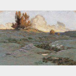 Stephen Maxfield Parrish (American, 1846-1938)      A Landmark