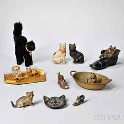 Ten Cat-related Pieces