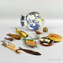 Twelve Asian Items