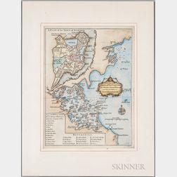 New England, Four Maps.