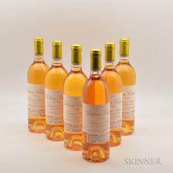 Chateau Climens 1989, 6 bottles