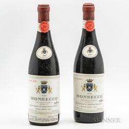 Conte don Ugo Ravizza Vino Monsecco Reserva Speciale 1967, 2 bottles