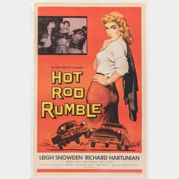 """Hot Rod Rumble"" One Sheet Movie Poster"