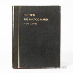 Steichen, Edward (1879-1973) and Carl Sandburg (1878-1967) Steichen The Photographer.
