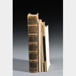 British Microscopy, Five Titles, 18th-19th Centuries:
