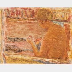 After Pierre Bonnard (French, 1867-1947), Jacques Villon (French, 1875-1963)      La baignoire