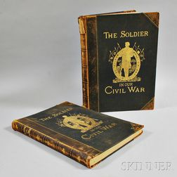 Two Volumes of Frank Leslie's The Soldier in Our Civil War