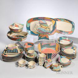 Memphis Design Dorothy Hafner for Rosenthal Flash Dinnerware