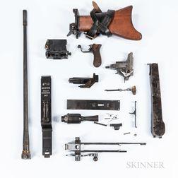 German WWI Maxim MG. 08/15 Machine Gun Parts Set
