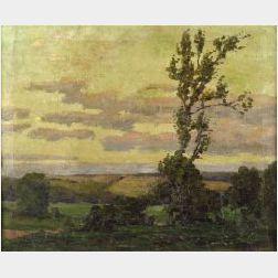 Christian J. Walter (American, 1872-1938)  The Lone Tree