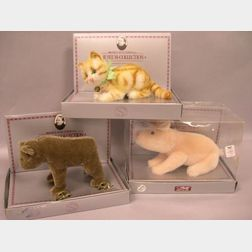 Three Steiff Boxed Museum Collection Animals
