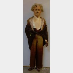 Composition and Plaster Model of Franklin Pierce.