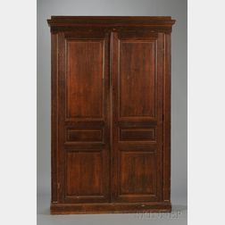 Late Victorian Oak Armoire