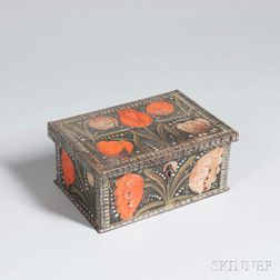 Small Paint-decorated Document Box