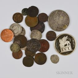 Twenty-seven Venetian Coins and Medals