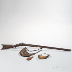 Percussion Rifle and Accessories