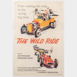 """The Wild Ride"" One Sheet Movie Poster"