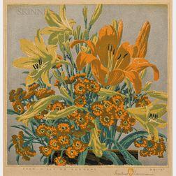 Gustave Baumann (German/American, 1881-1971)      From Hillside Gardens