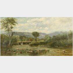 Frank Henry Shapleigh (American, 1842-1906)  On Ellis River, Jackson NH